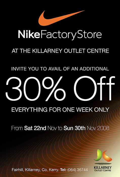 nike store 30 off